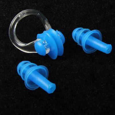 Tapones silicona para o dos y pinza de nariz nataci n for Tapones oidos piscina