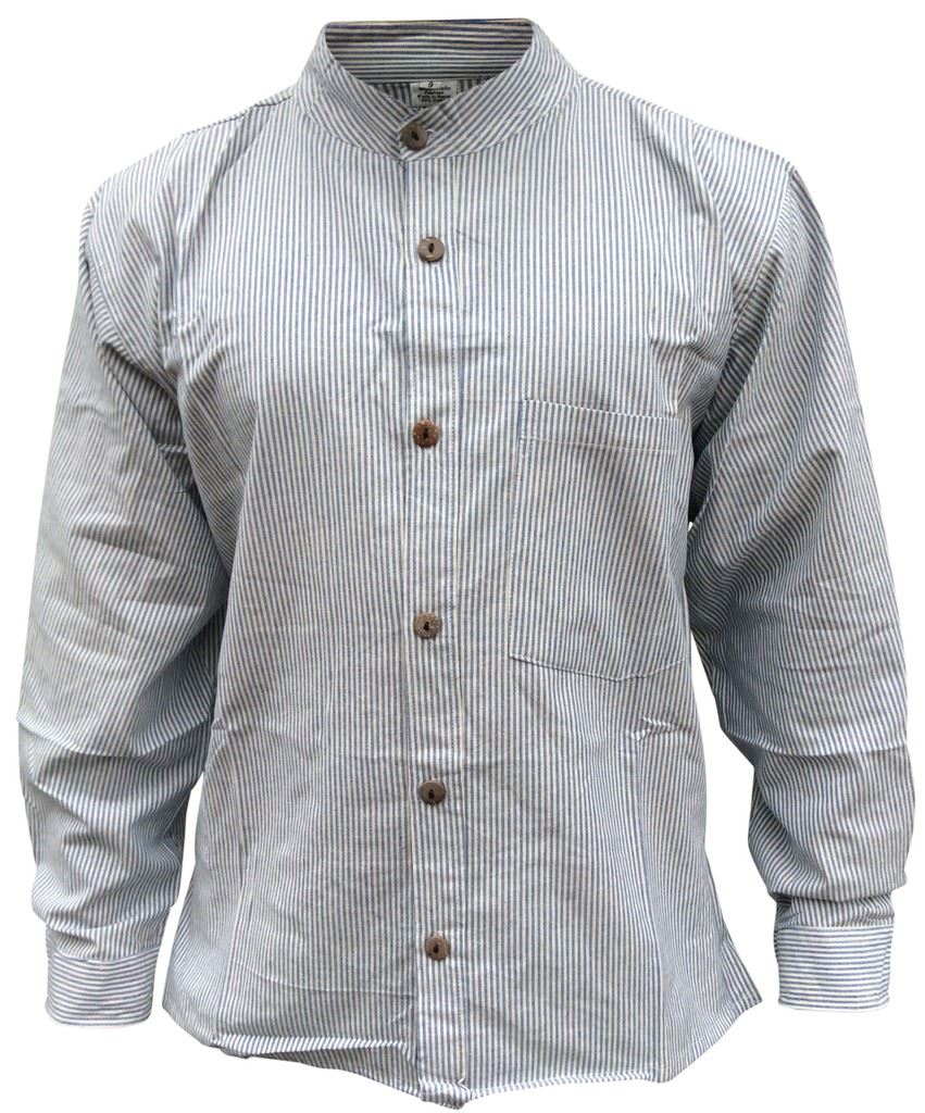 Lee Valley Men's Irish Collarless Linen Grandad Shirt LN8 Navy/White Stripe. by Lee Valley, Ireland. $ - $ $ 59 $ 69 99 Prime. FREE Shipping on eligible orders. Grandad tee shirt has retro color vintage label for a grandpa, a great Fun I Have Two Titles Dad And Grandad Shirt Fathers Day Gift.