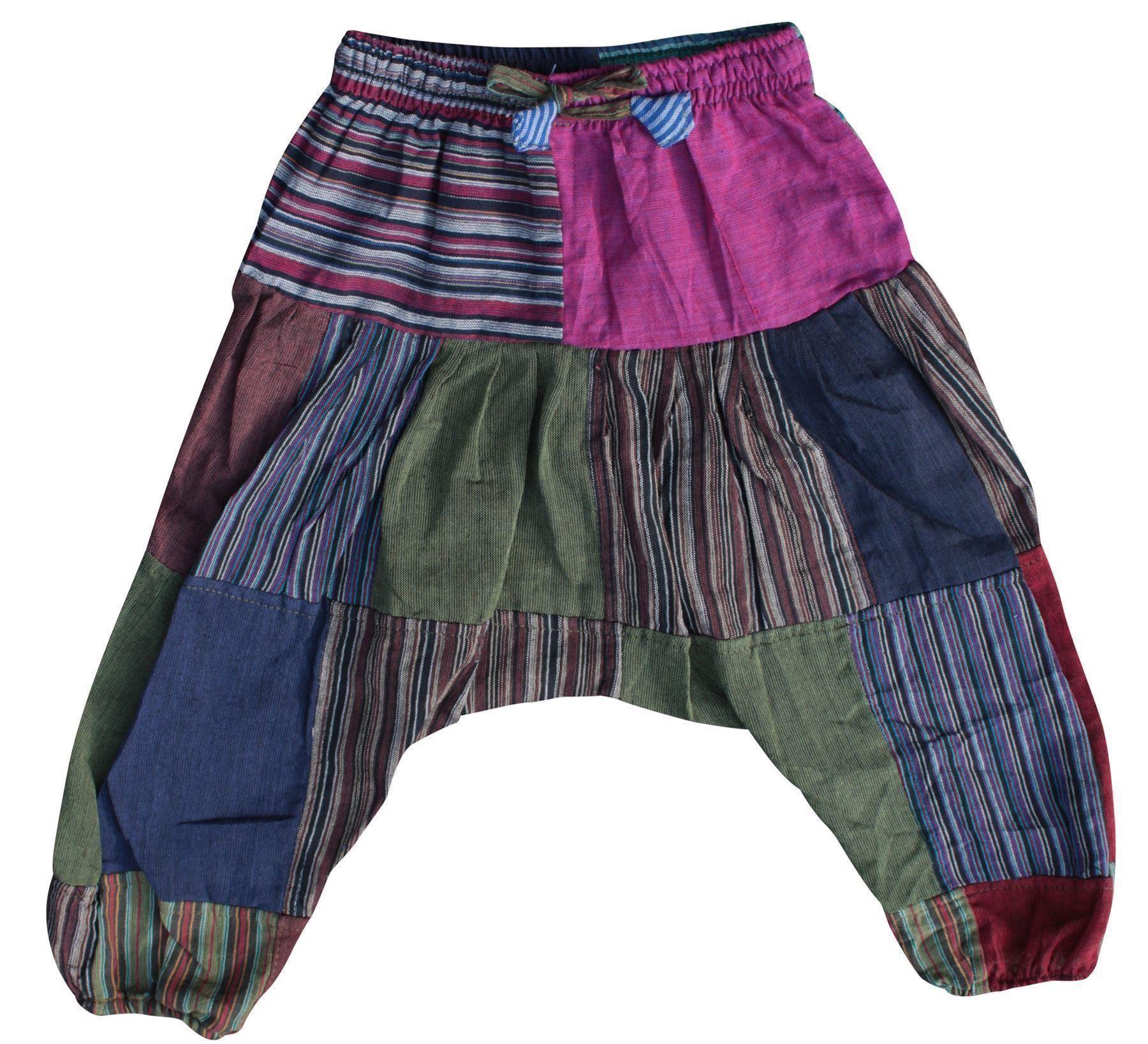 Children Hippie Harem Loose Boho Trouser Hippy Colorful
