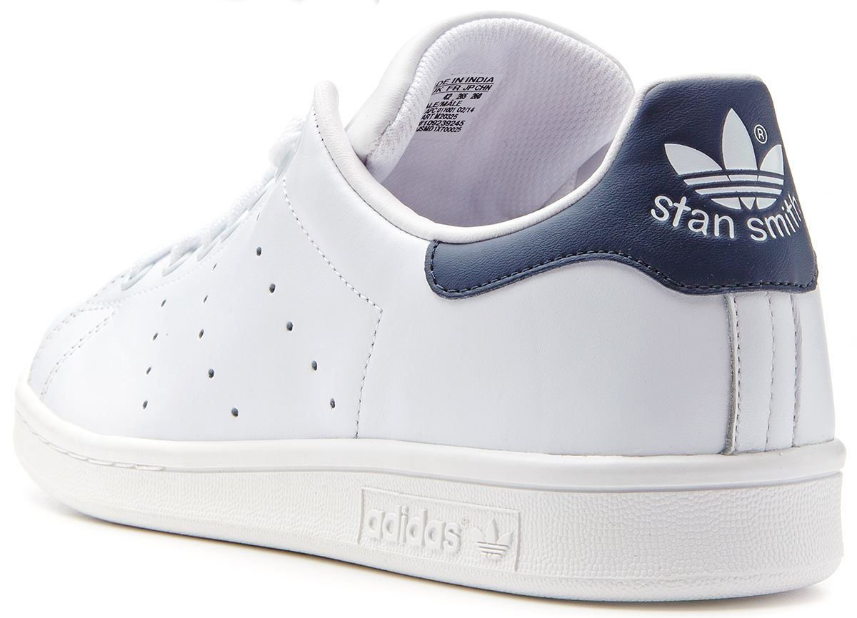 Stan Smith Blanc Et Bleu