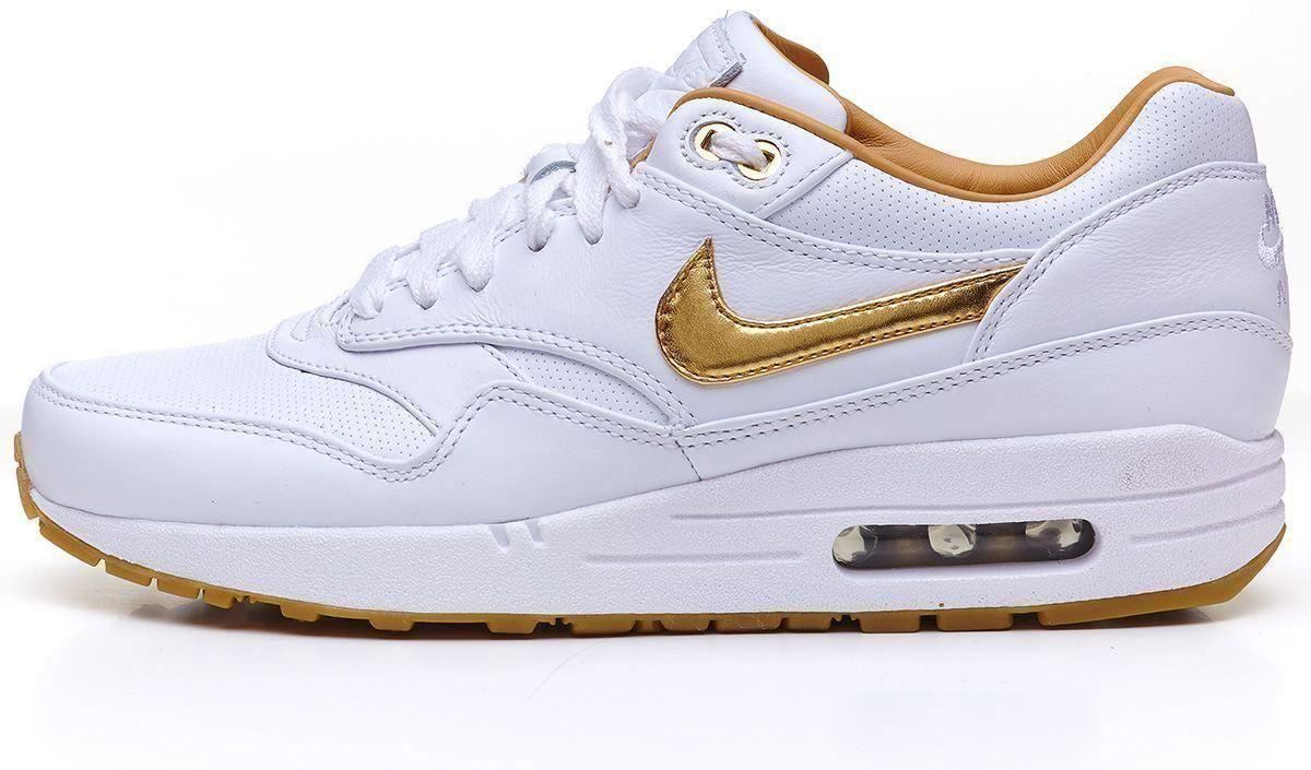 Air Max 1 White Gold