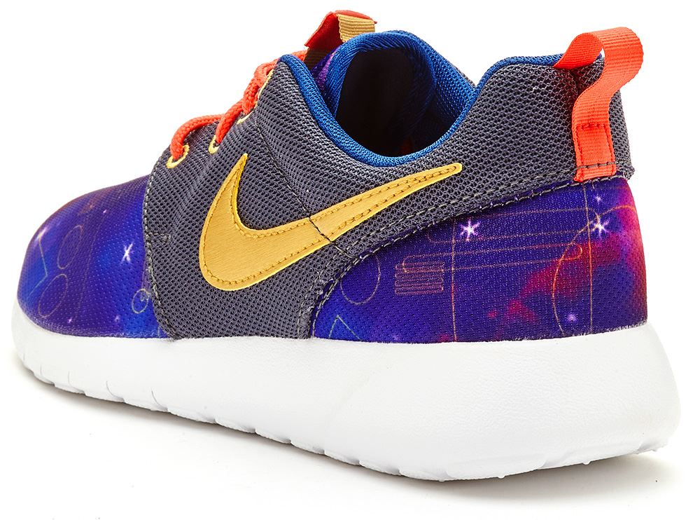 nike roshe run one print mesh gs trainers in all sizes. Black Bedroom Furniture Sets. Home Design Ideas