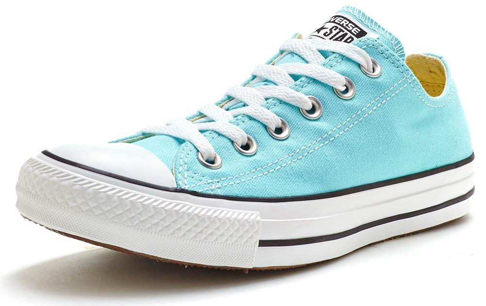 converse azul pastel