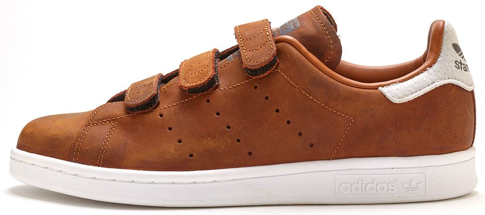 adidas stan smith trainers brown