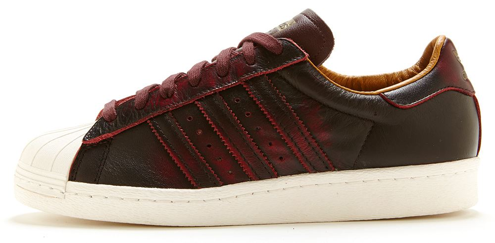 adidas original superstar 80s brun