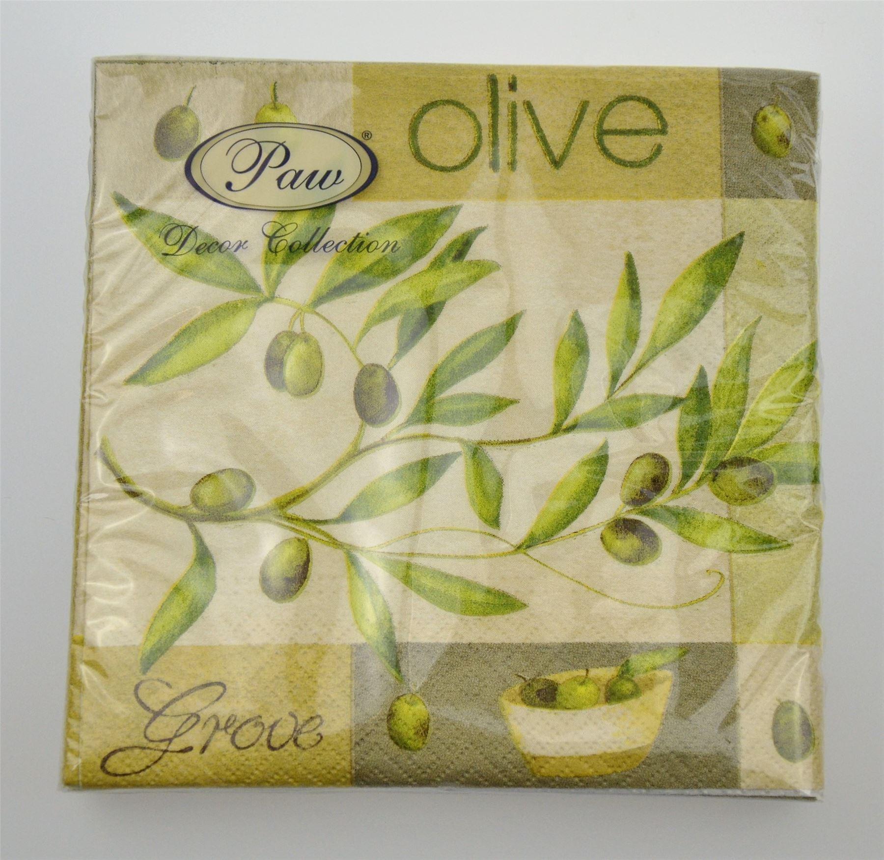 20 pck beautiful vintage decorative paper napkins decoupage