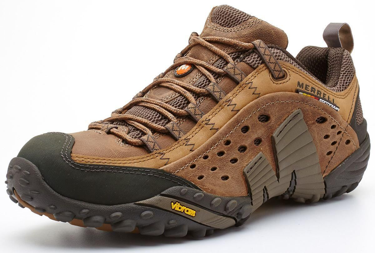Merrell Intercept Moth Brown Shoes