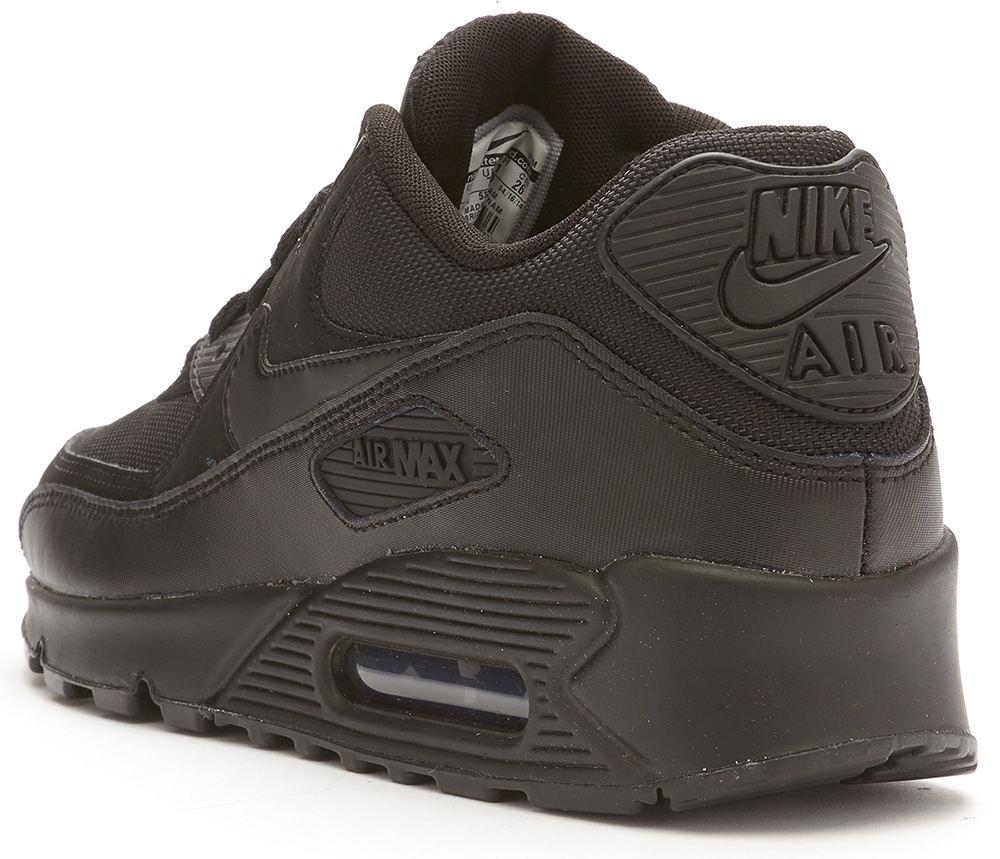 Nike Air Max 90 Essential black trainers 537384 090