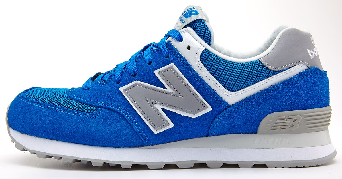 new balance blue trainers