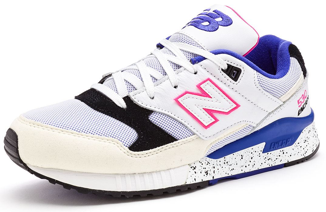 new balance 530 encap trainers in white blue pink m530. Black Bedroom Furniture Sets. Home Design Ideas
