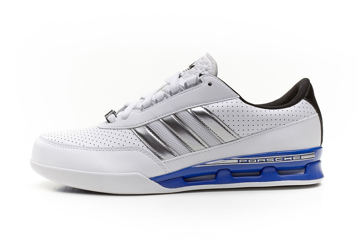 ... adidas originals herren porsche gt cup leder sportschuhe weiß silber  q23131 adidas porsche typ 64 s
