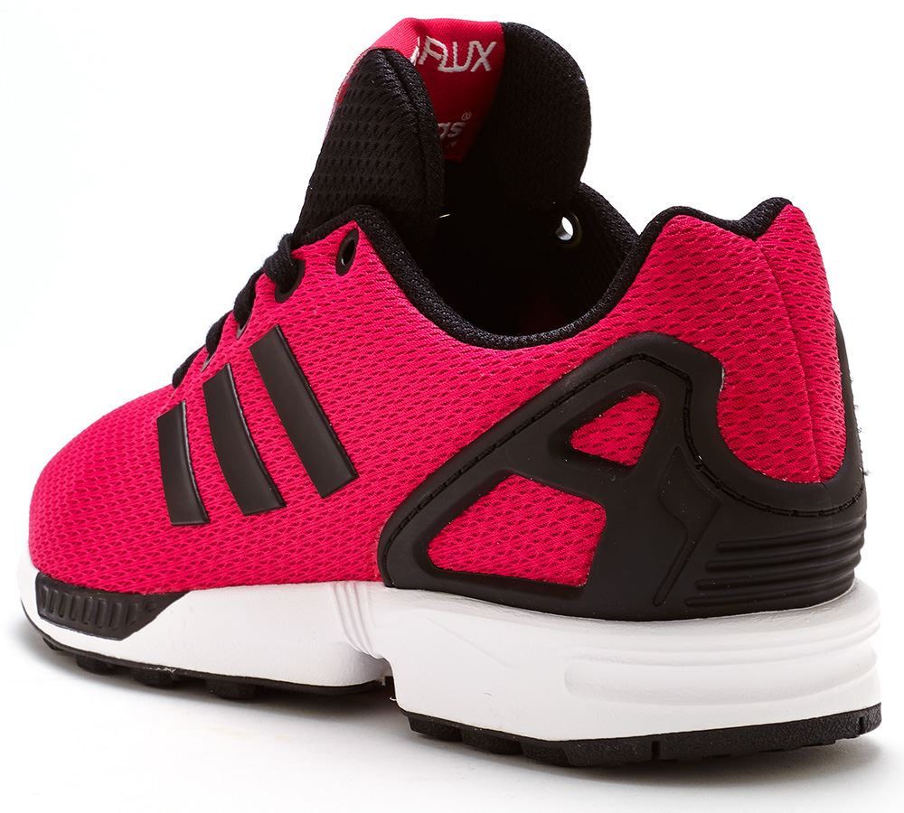 Adidas Zx Flux Black And Red