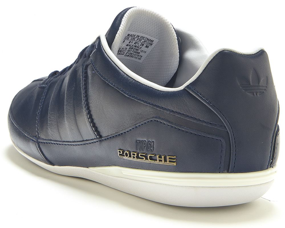 adidas originals herren porsche design typ 64 schuhe sportsch marineblau f33008 ebay. Black Bedroom Furniture Sets. Home Design Ideas