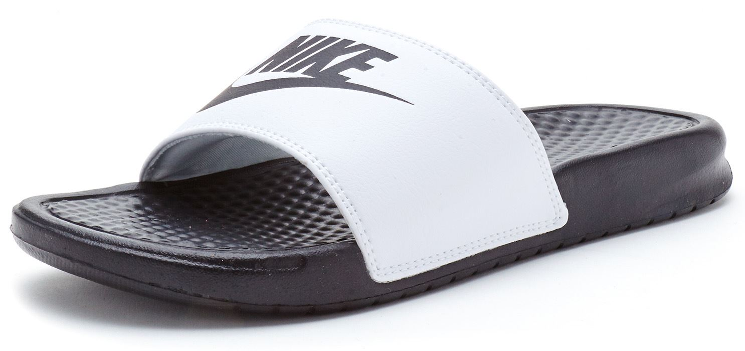 Black sandals nike - Nike Benassi Just Do It Slide Thong Flip