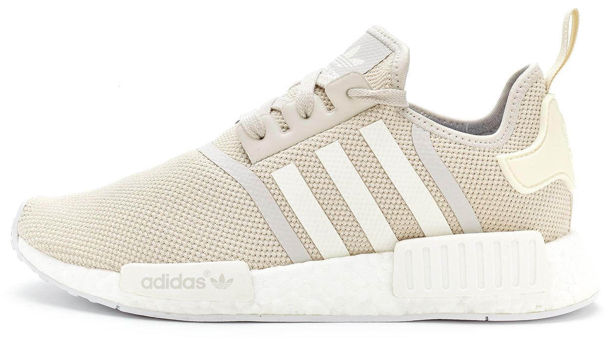 A Sneak Peak at the adidas NMD R1 Primeknit White Gum Upcoming