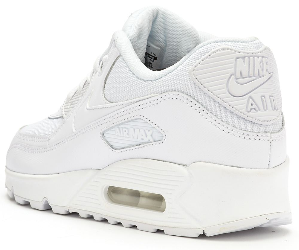 buy popular 17252 57403 ... Nike-Air-Max-90-Essential-white-trainers-537384- ...