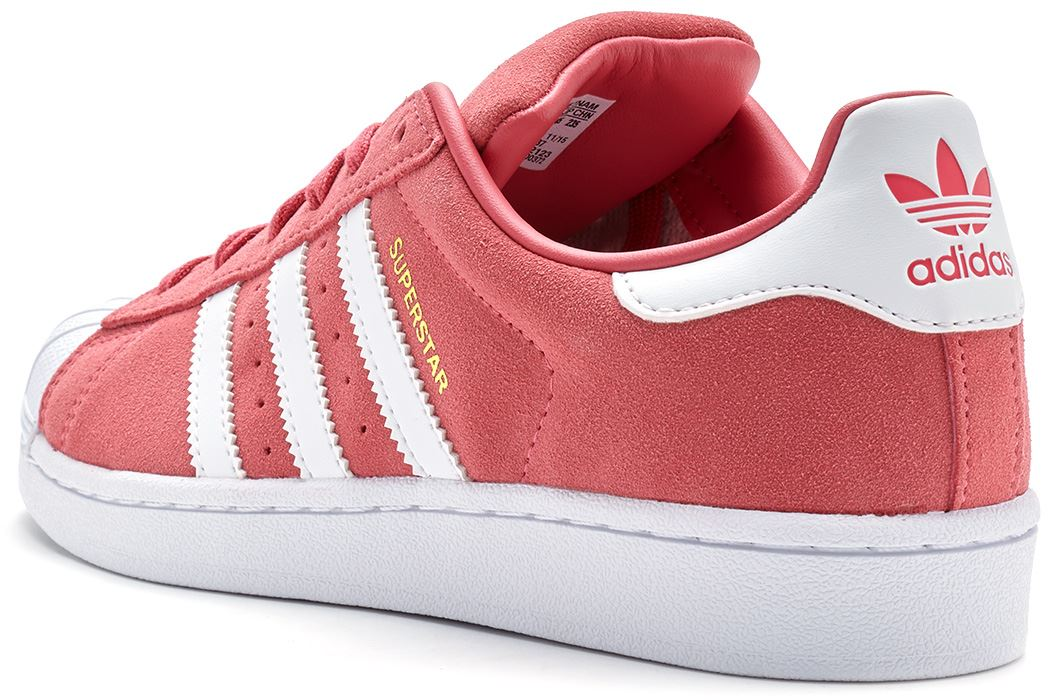 adidas superstar rose poudré