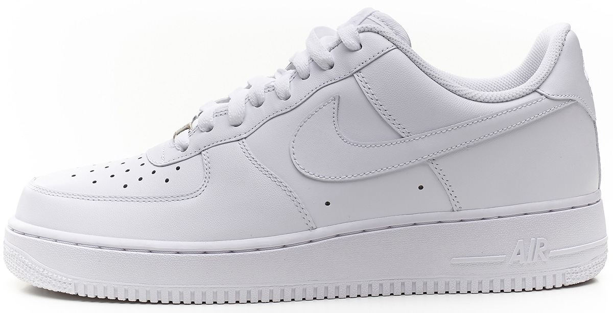 nike air force 1 low white trainers