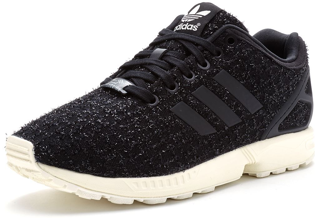 Adidas Flux Black And White Womens