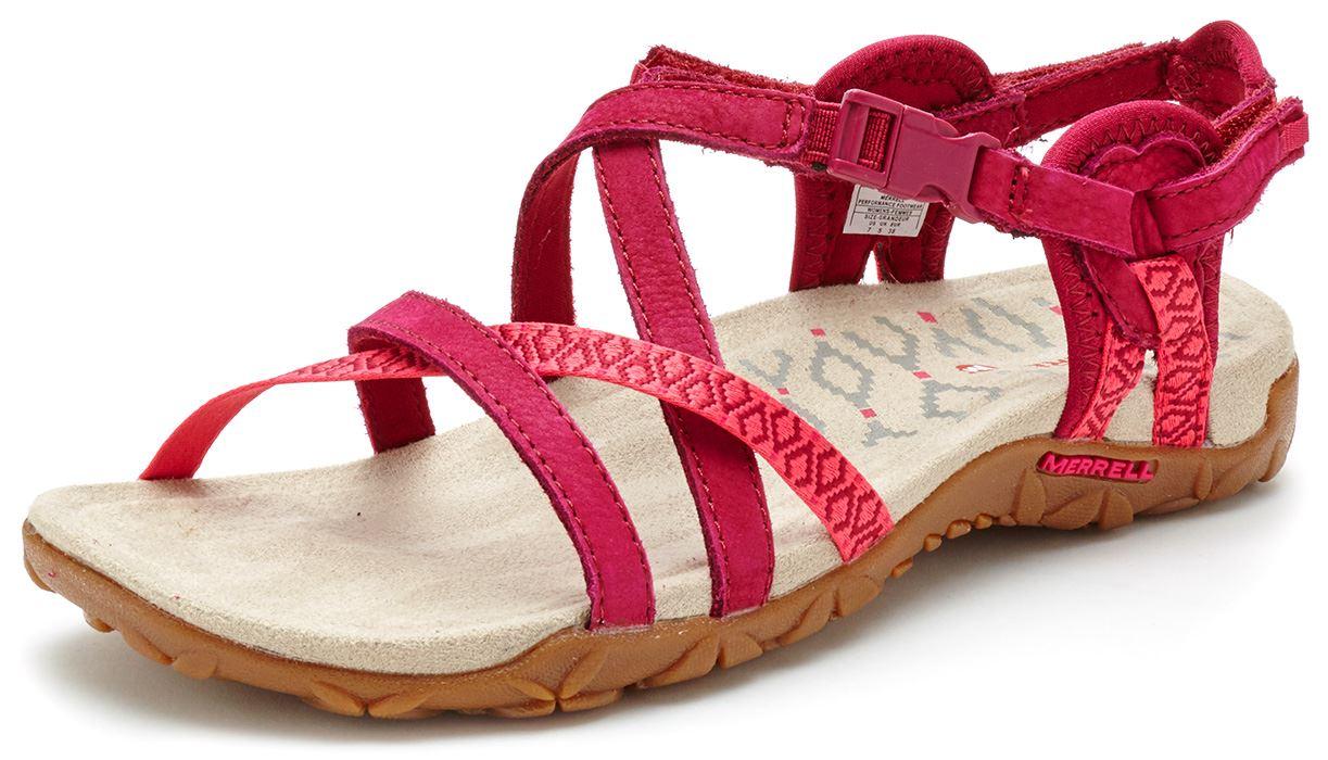 5be586264c1b Merrell Sandspur Terran Lattice   Cross Women Sandals in Leather All ...