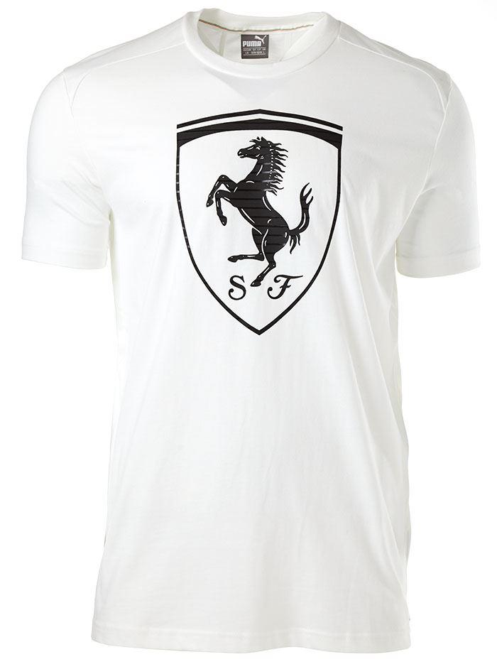 puma ferrari shirt blanco