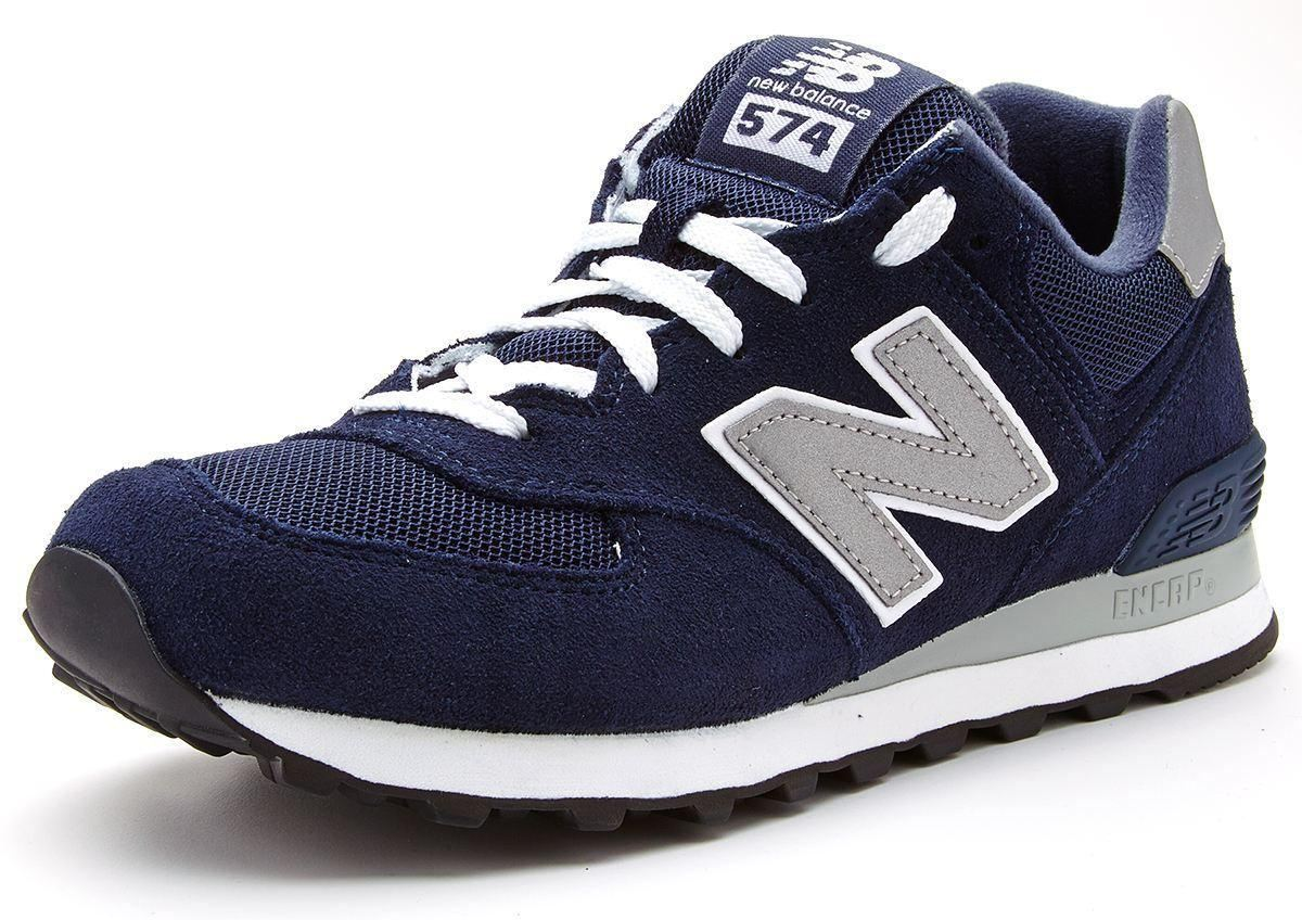 574 new balance navy blue men
