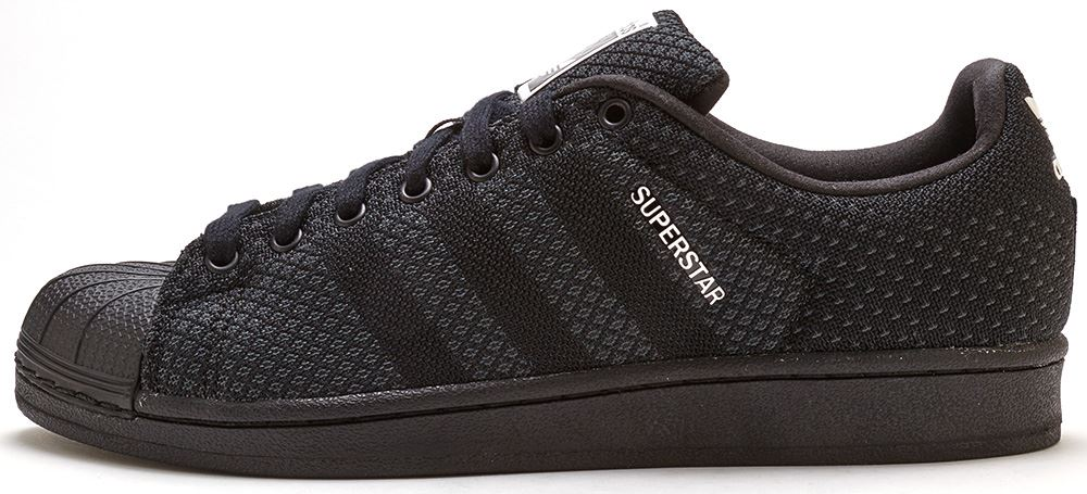 adidas superstar weave black and white