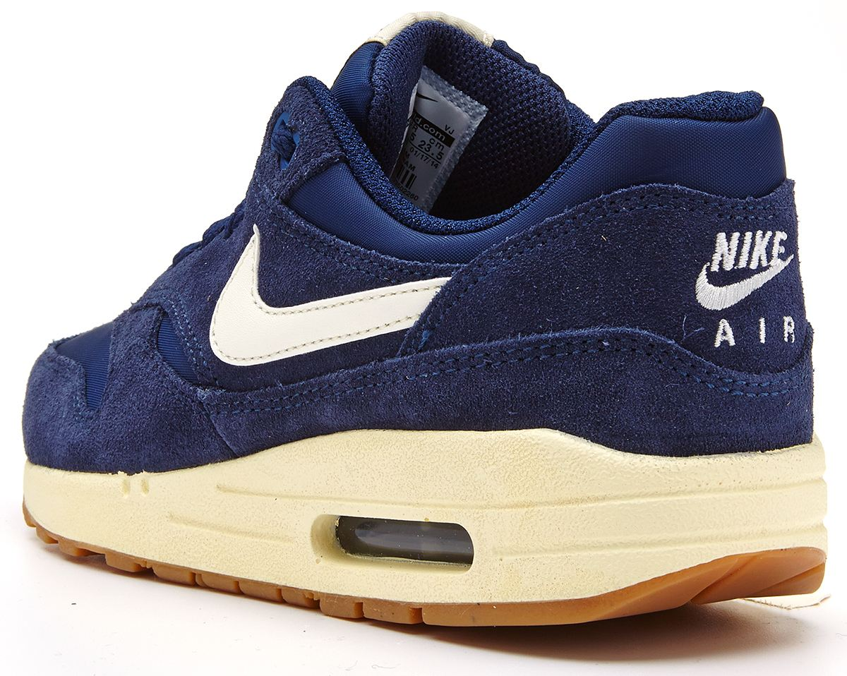 Nike Air Max One Blauw Suede