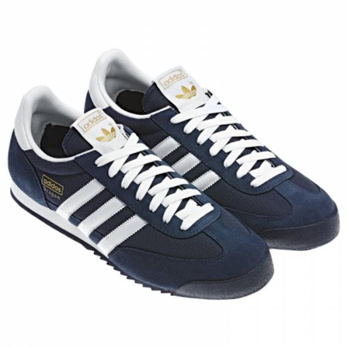 adidas dragon new navy