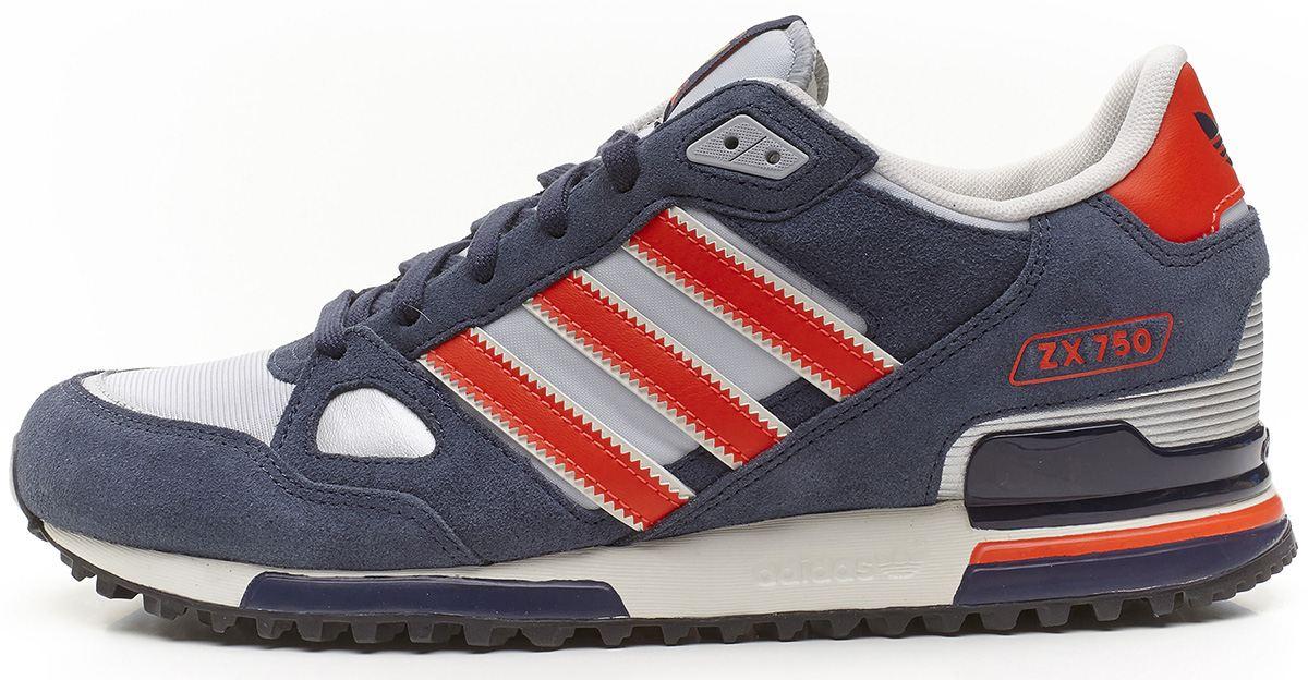 scarpe adidas zx 750 grigio
