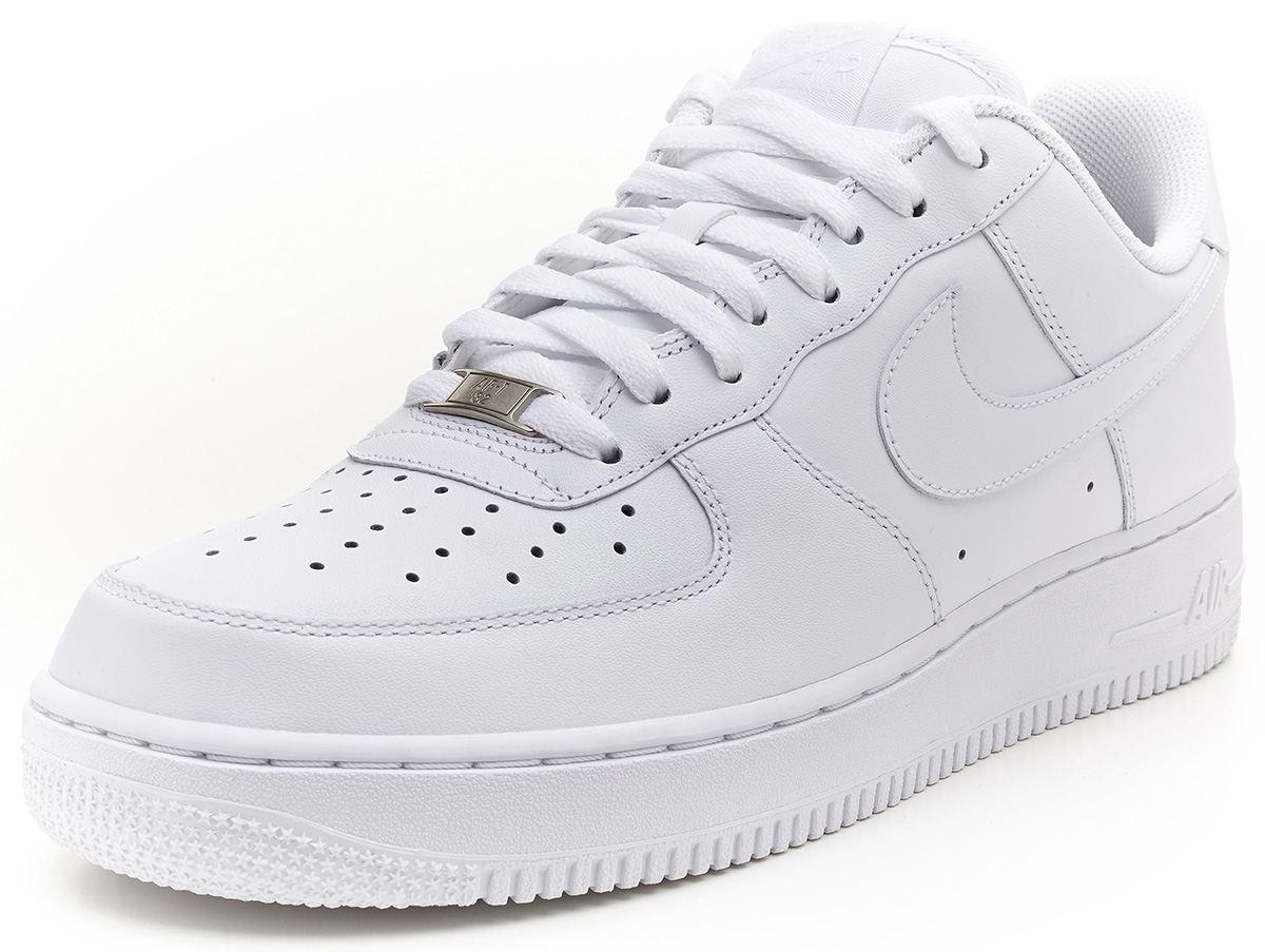 Zapatos blancos Nike Air Force 1 para hombre LMf6r1lNh