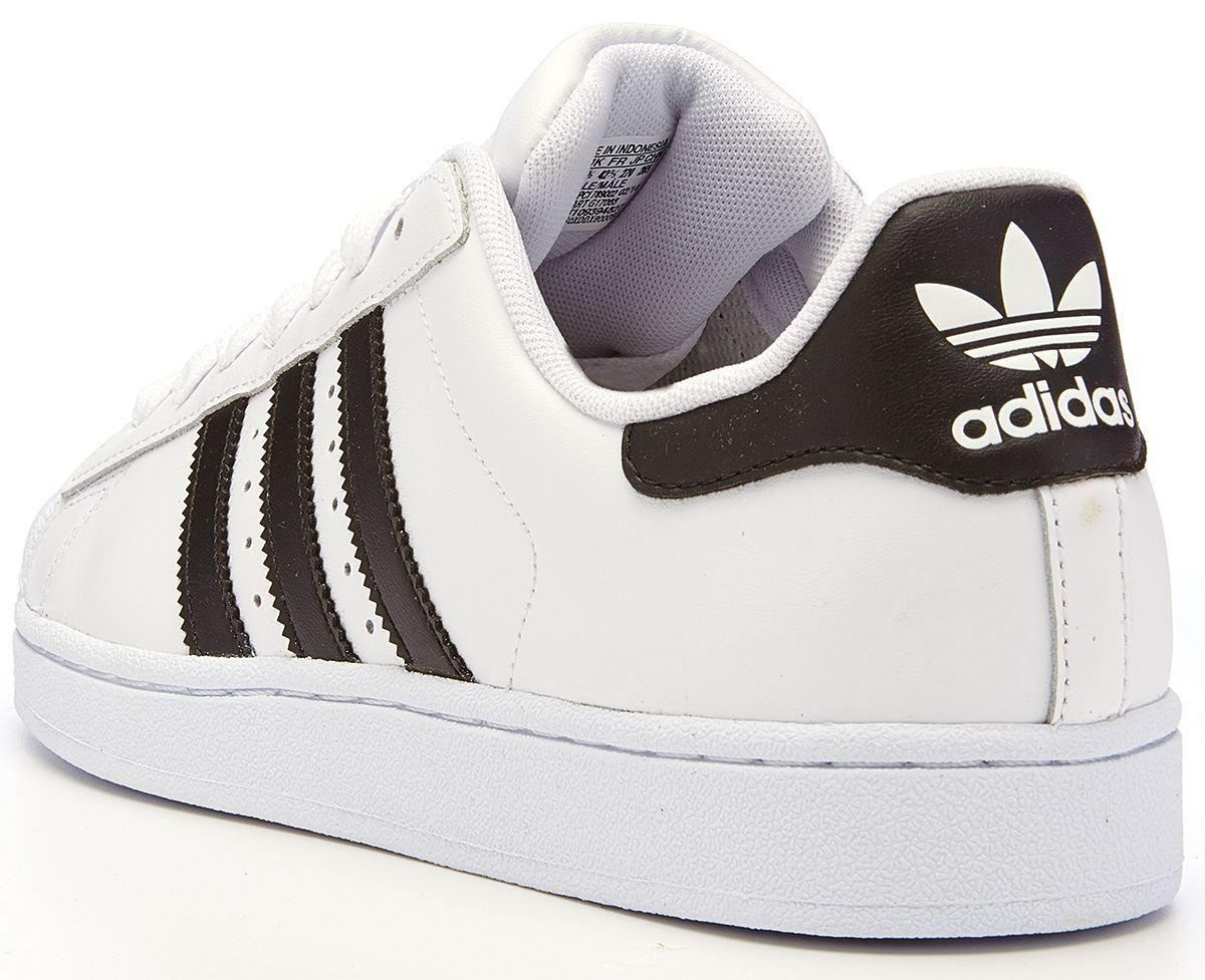 adidas originals superstar 2 ii leather trainers white g17068 ebay. Black Bedroom Furniture Sets. Home Design Ideas