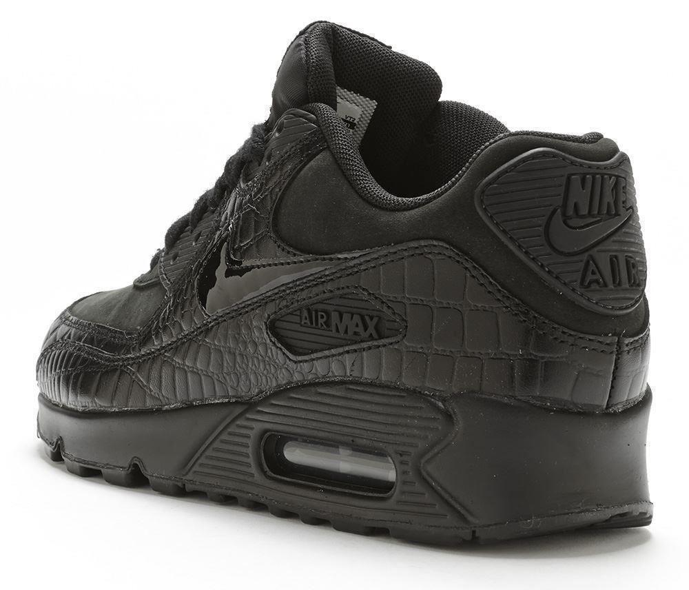 all black air max 90 womens