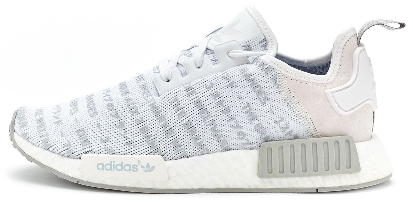 adidas NMD R1 Primeknit Japan Triple White Releasing This Week