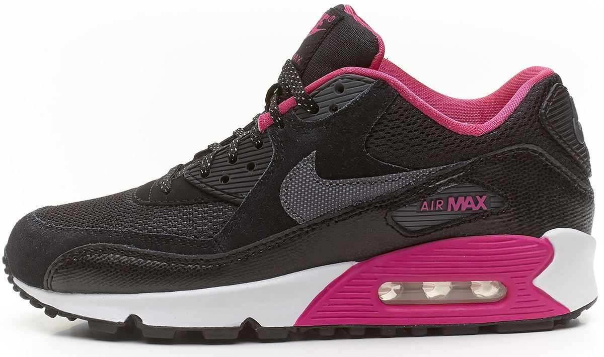 wbbcm Nike Air Max 90 GS black&pink trainers 345017 017 | eBay