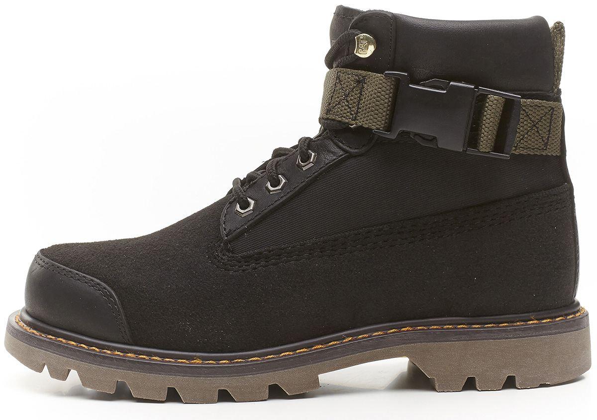 caterpillar cat colorado mr black grey work boots