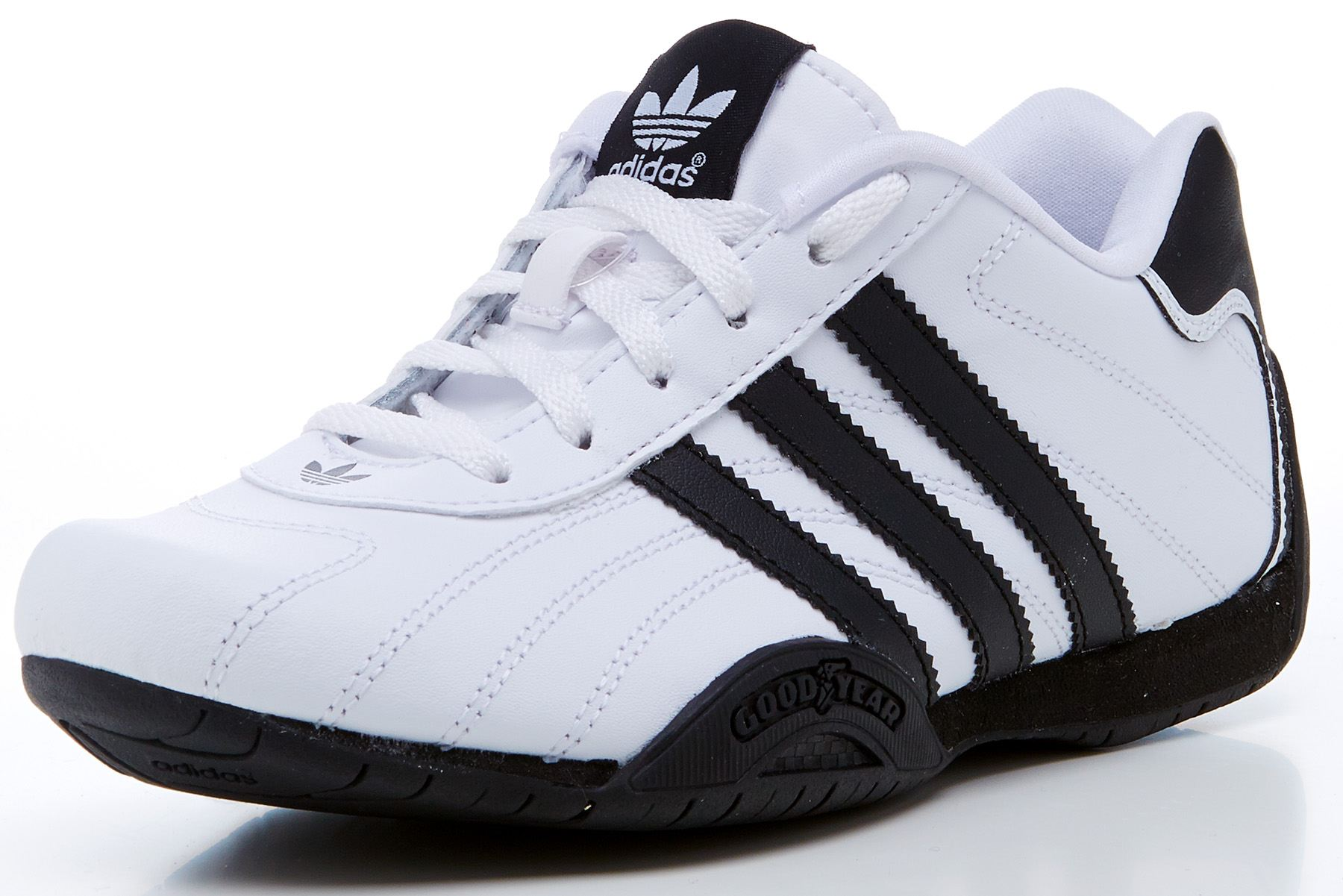 adidas originals goodyear adi racer kids gs trainers white. Black Bedroom Furniture Sets. Home Design Ideas