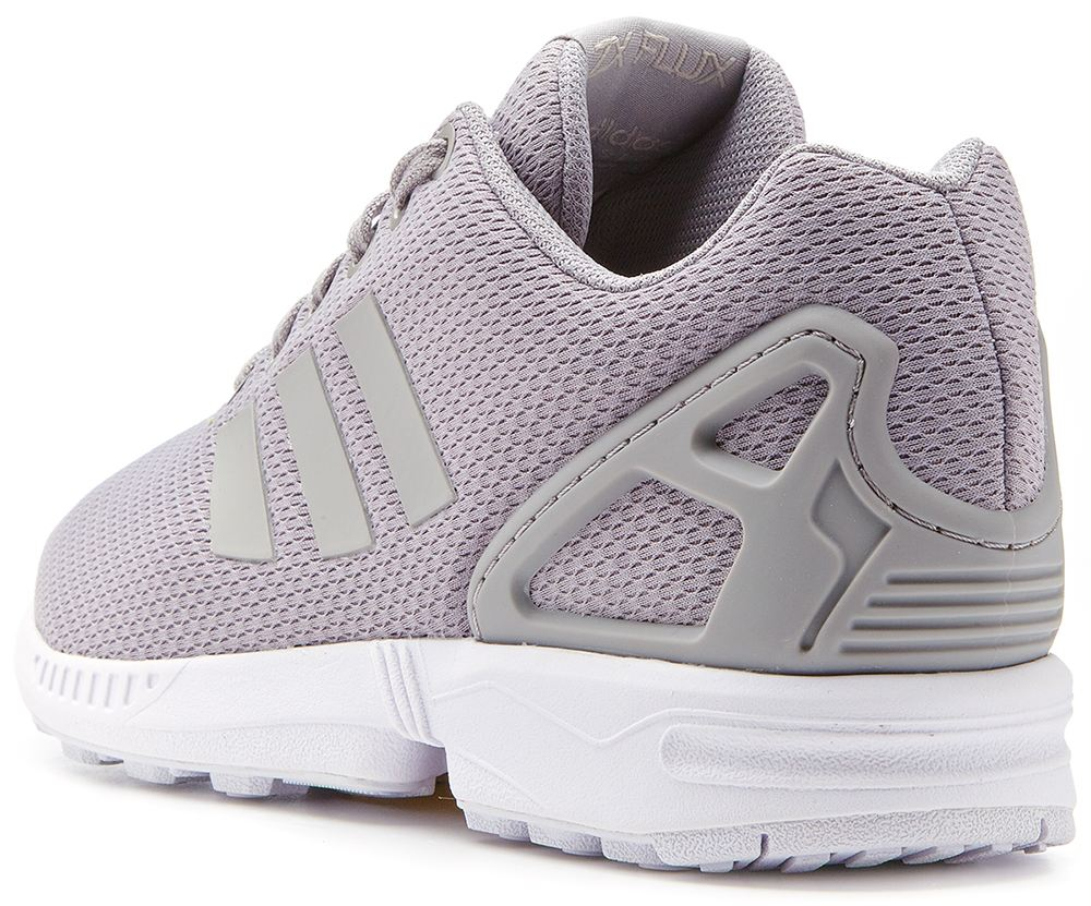Adidas Originals ZX Flux White/White/Clear Grey Unisex Lifestyle