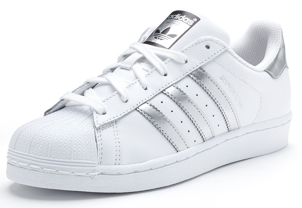 adidas originals superstar women trainers in white. Black Bedroom Furniture Sets. Home Design Ideas