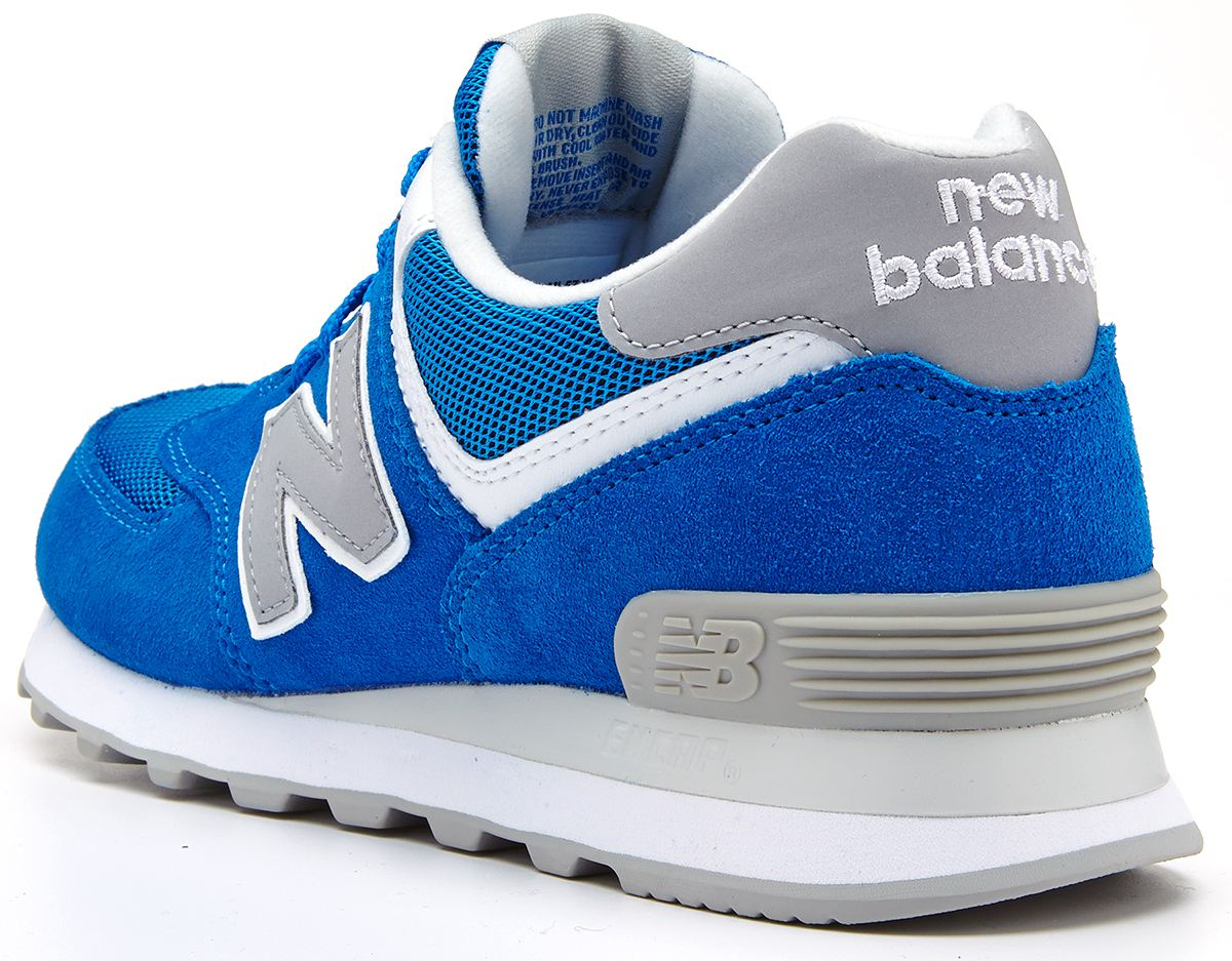 new balance 574 grey and blue