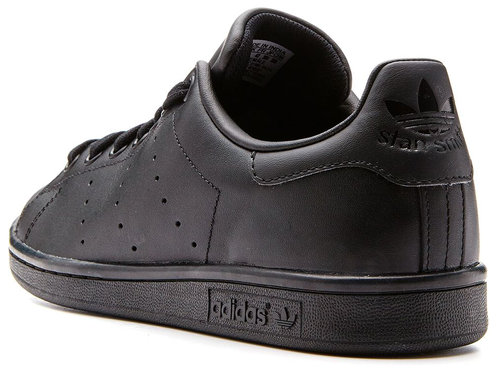 Adidas Originals Stan Smith Trainers All Black M20327