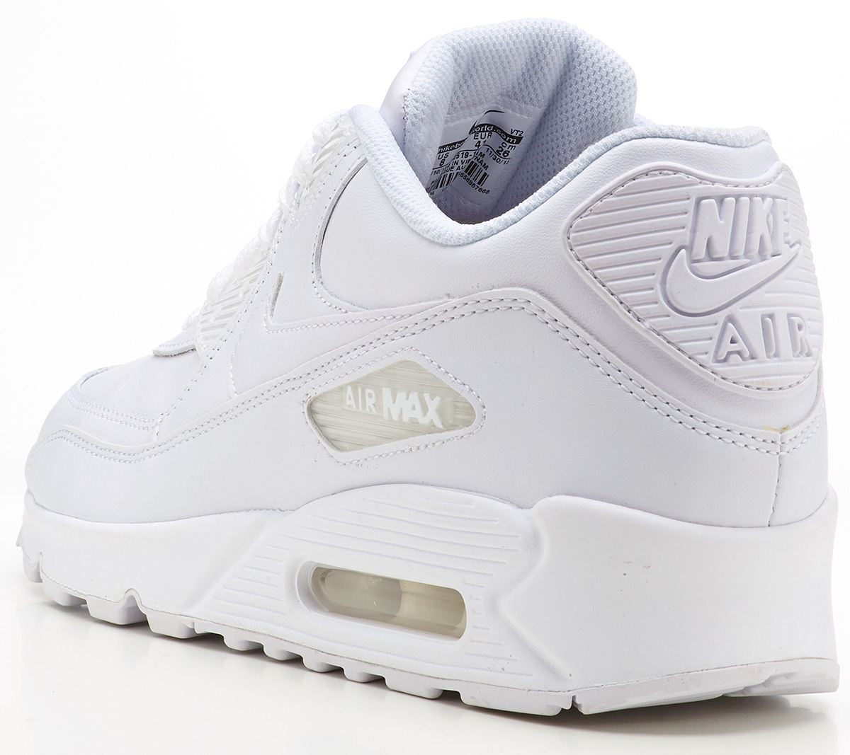 online store 2e180 efada Nike Air Max 90 leather white trainers 302519 113   Clothes, Shoes    Accessories, Men s Shoes, Trainers   eBay!