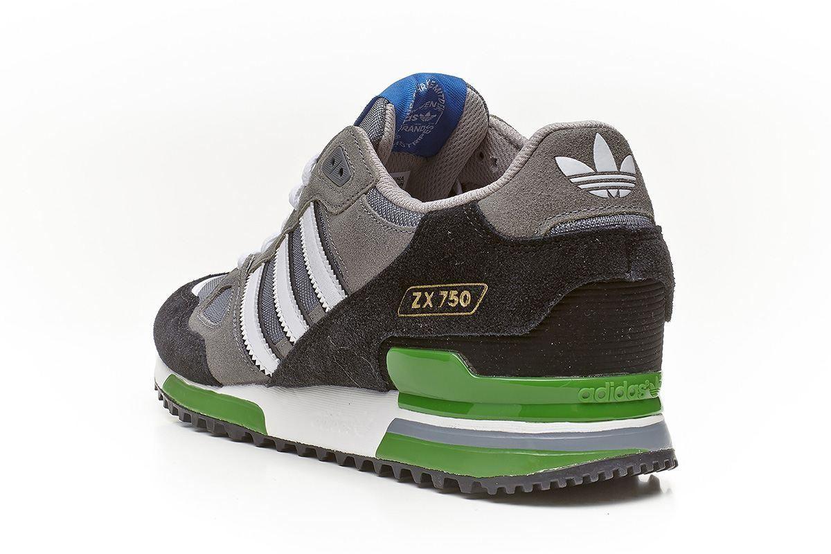 adidas zx 750 grey green