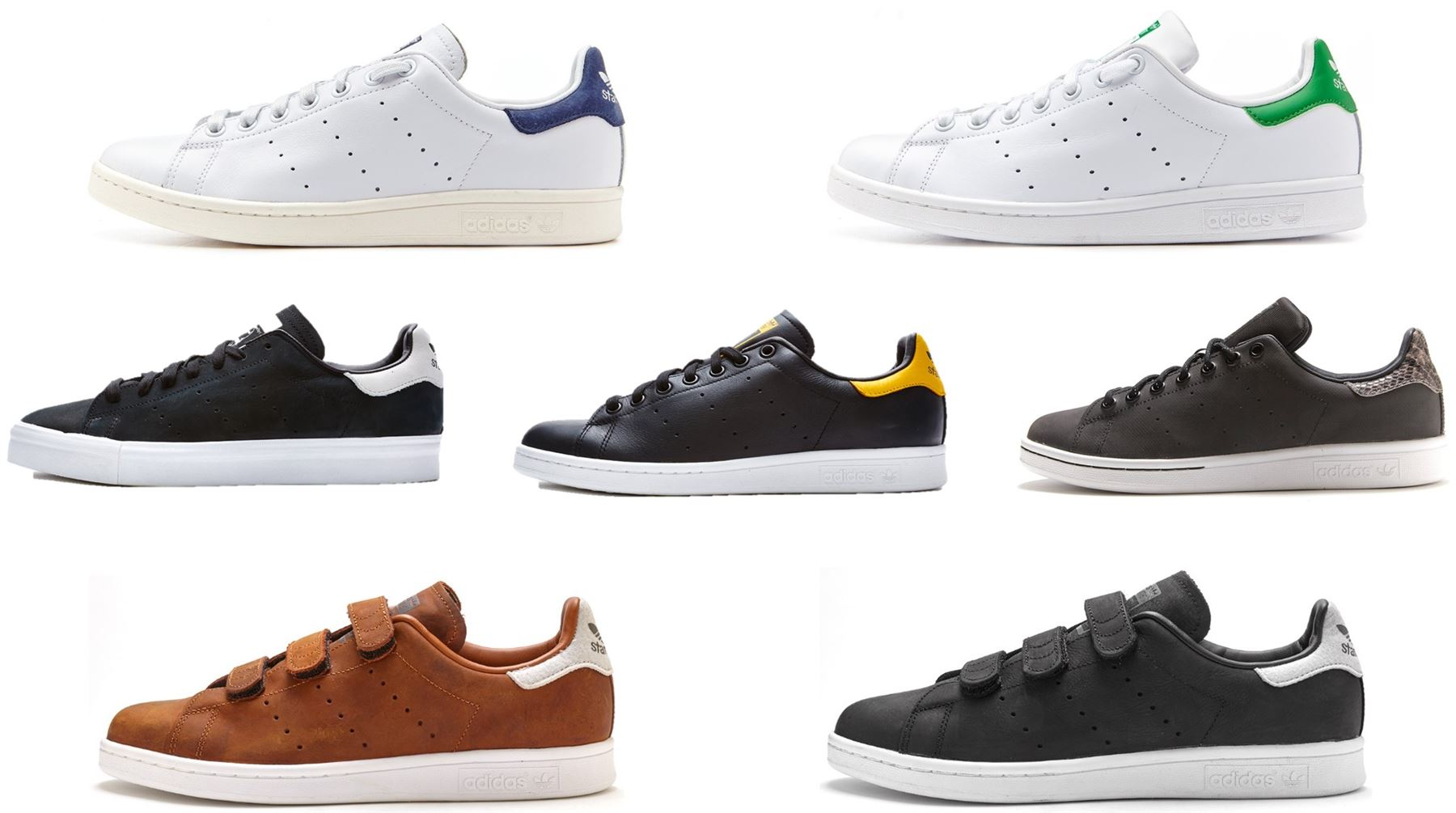 Adidas Stan Smith Klettverschluss 37