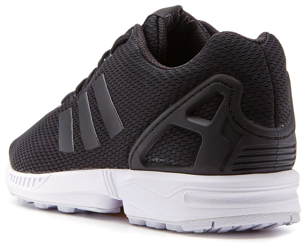 Adidas Zx Flux All Black Ebay