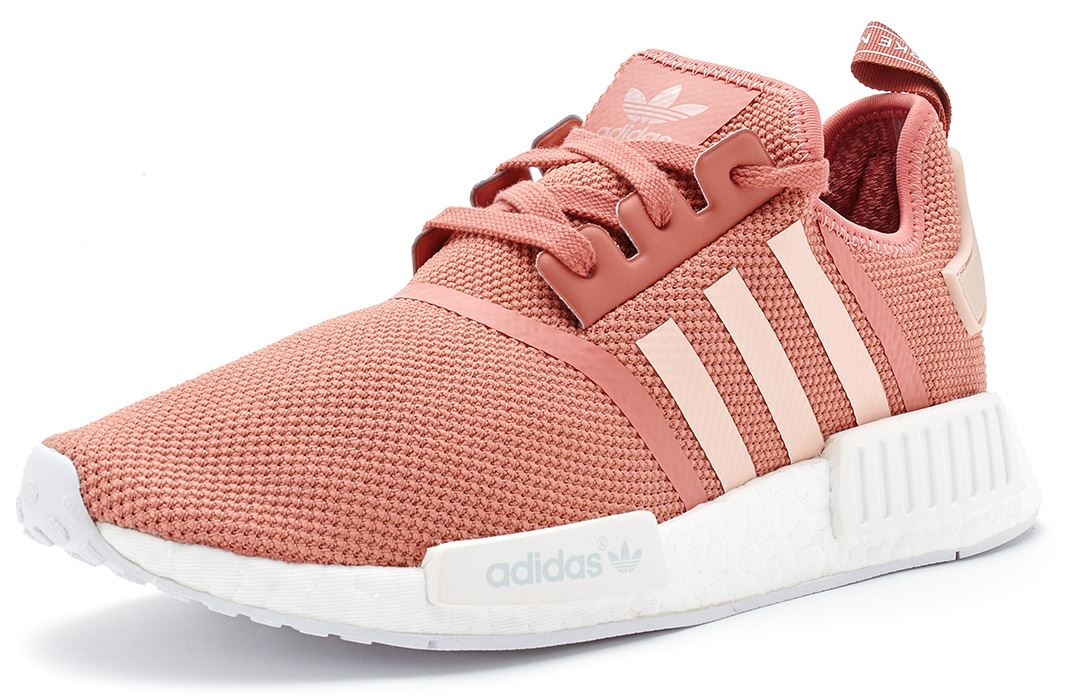 adidas nmd r1 primeknit women trainers in vapour pink. Black Bedroom Furniture Sets. Home Design Ideas