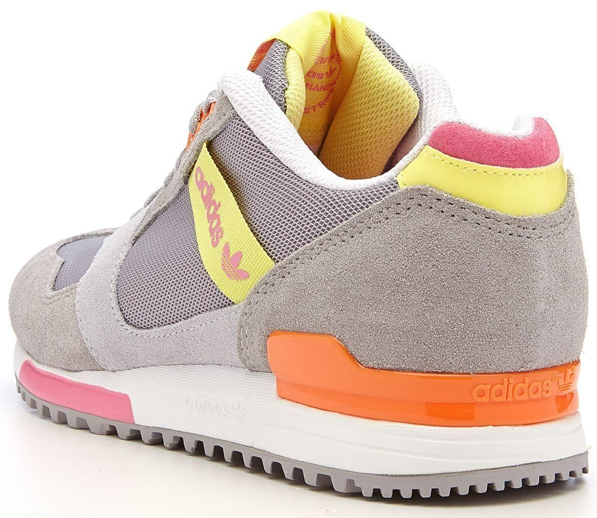 adidas originals zx 700 contemp trainers grey yellow. Black Bedroom Furniture Sets. Home Design Ideas