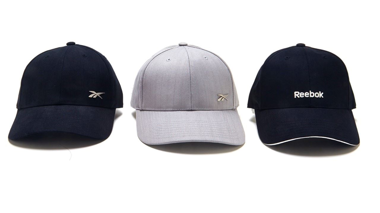 reebok classic baseball cap in black or grey ebay