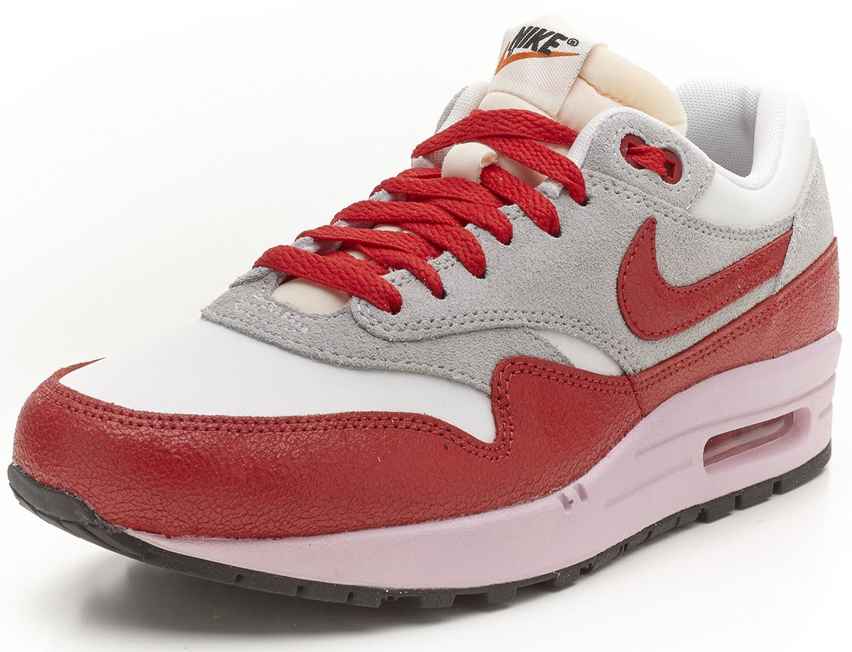 nike air max 1 vintage rosa grau rot sportschuhe. Black Bedroom Furniture Sets. Home Design Ideas