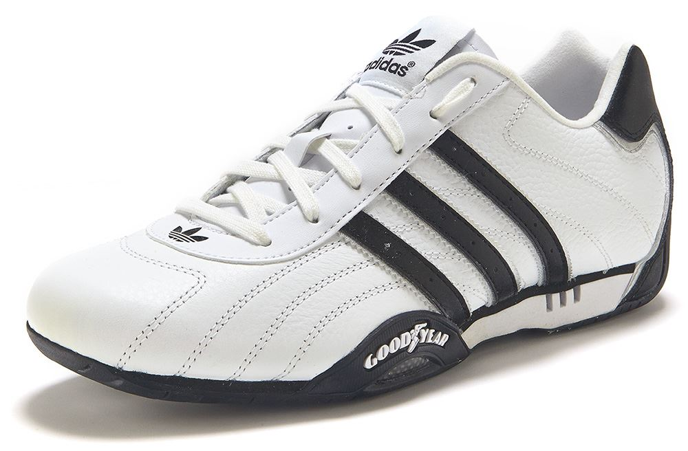 adidas originals goodyear adi racer low trainers white